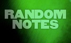 Random Notes - MAR