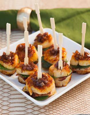 Scallop Bacon Sandwiches
