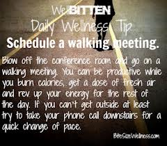 walking meeting