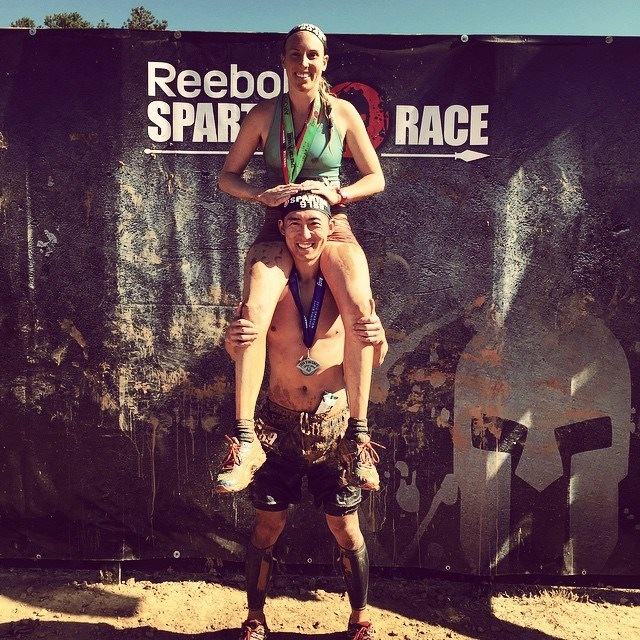 These 2 crazybirds did back to back Spartan races this past weekend. 13 miles on Sat and 9 miles on Sunday