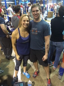 Mike and Liz competed in the SuperFit Games this weekend