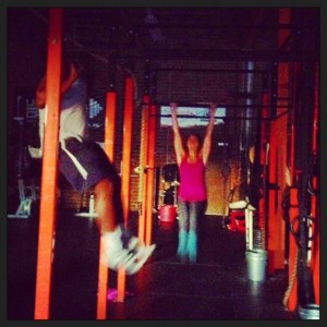 *that time the power went out in the middle of a WOD